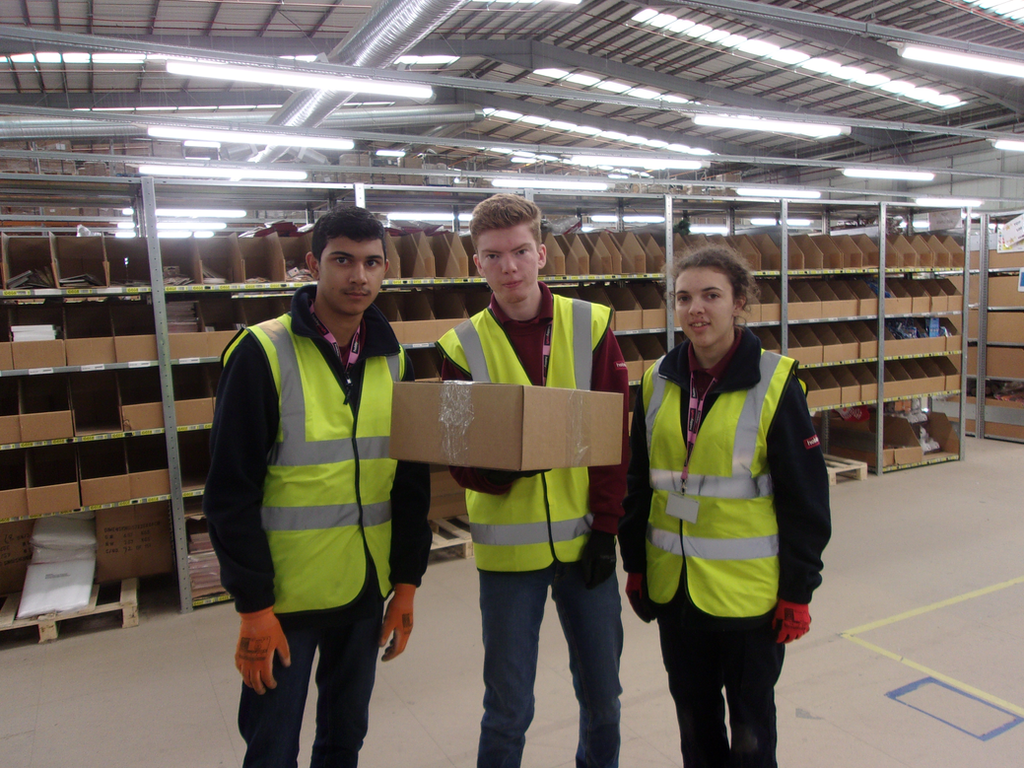 Hobbycraft Interns Recognised In Local Press