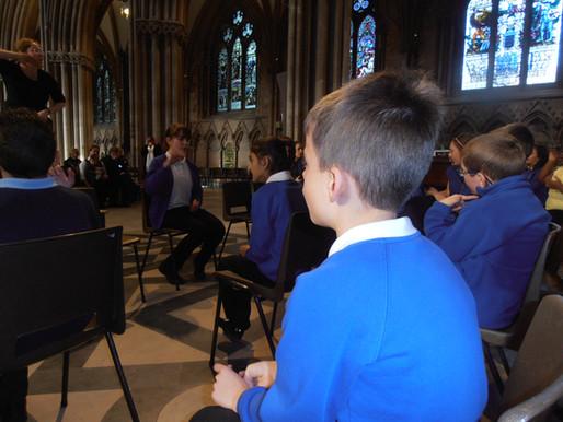 Music Share Event at Lichfield Cathedral