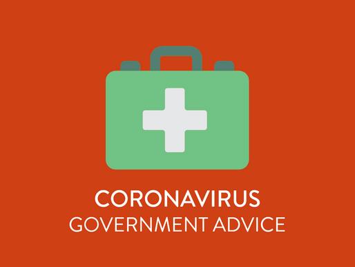 Coronavirus - Government Advice