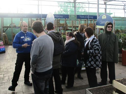 Vocational trip to Planters Garden Centre