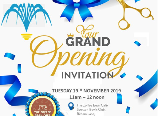 The Coffee Bean Café - Grand Opening