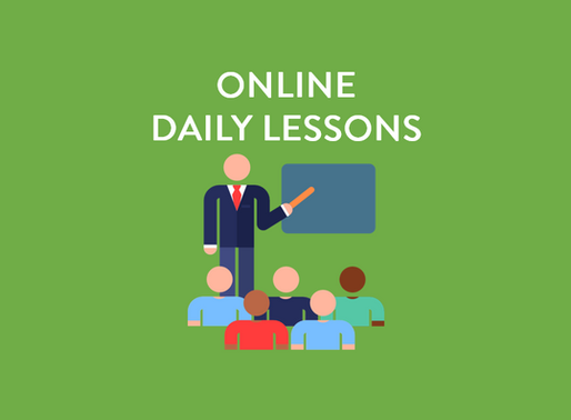 ONLINE DAILY LESSONS