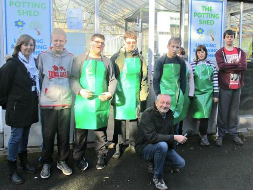 BBC Radio Derby visit The Potting Shed