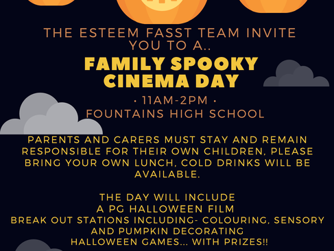 Family Spooky Cinema Day 28.10.21