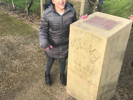 Pupils visit National Arboretum