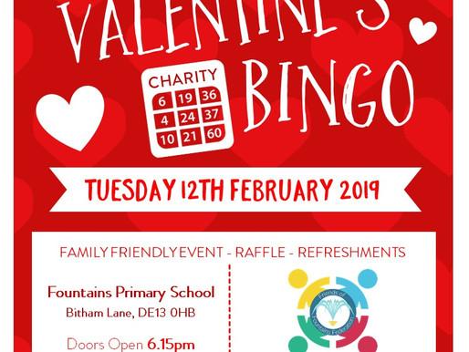 Valentine's Bingo Tonight