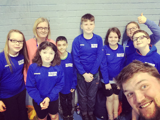 Fountains Paddle into Sixth place at indoor canoeing