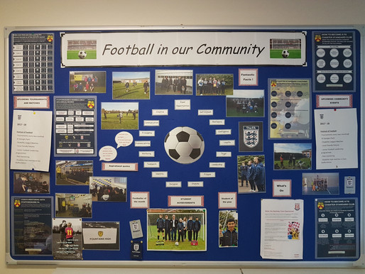 Community Football: Spring Term 1 Update