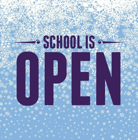 Schools Are Open