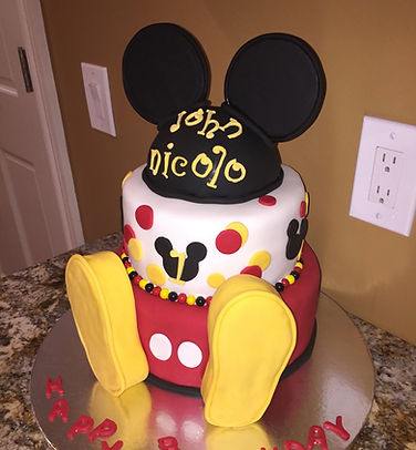 1st Birthday Mickey