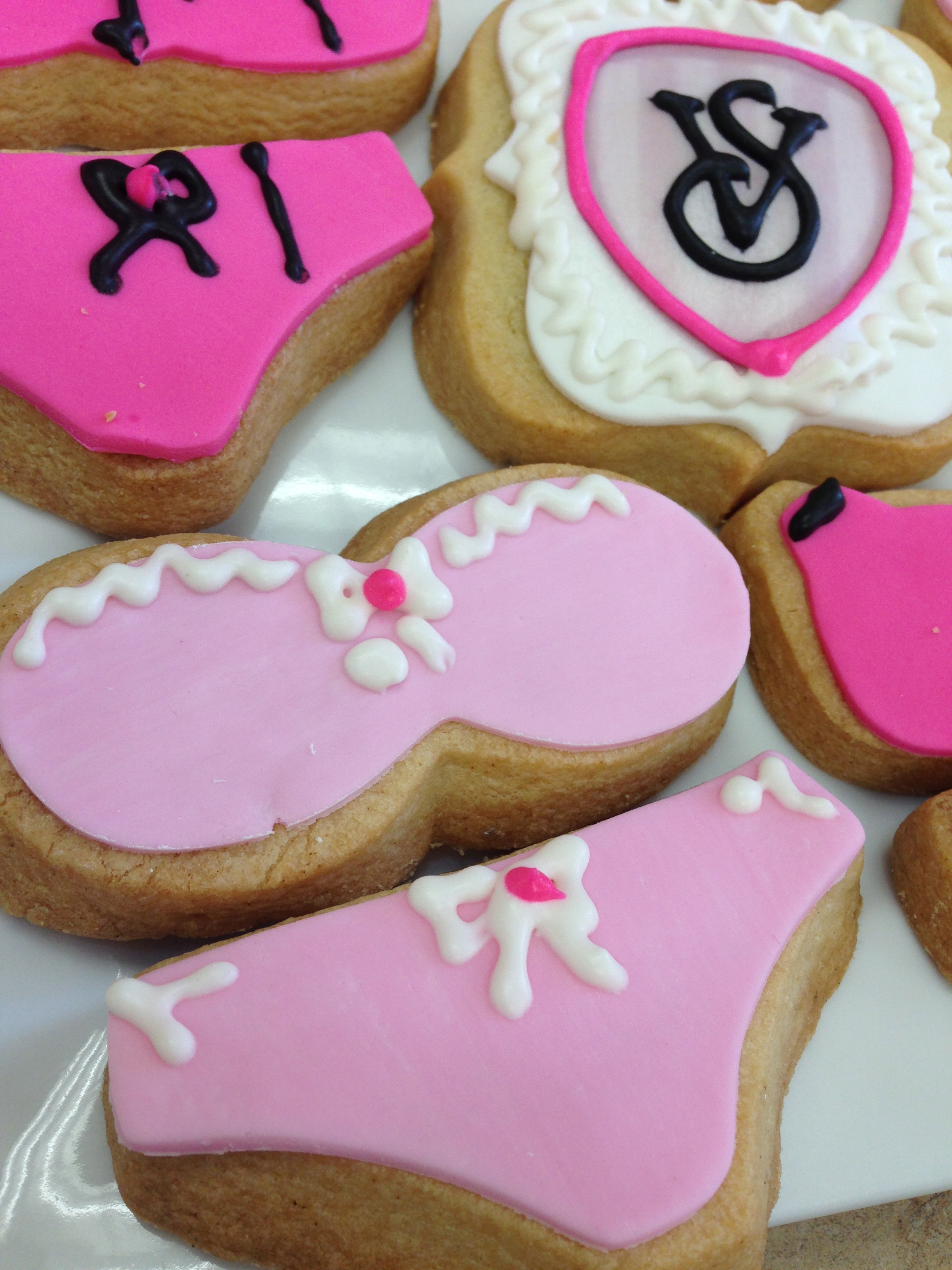 Bra and Panties Cookies
