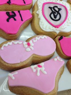 Bra and Panties Cookies