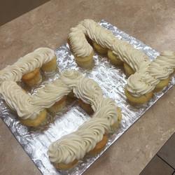 Number 51 Cupcake Cake