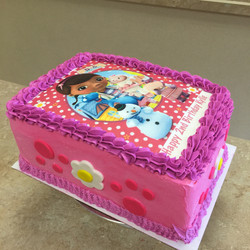 Docotor Mc Stuffin Cake