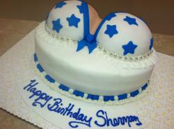 Dallas Cowboys Cheerleader Cake