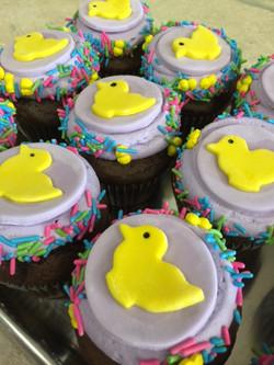 Yellow Duckie Cupcakes