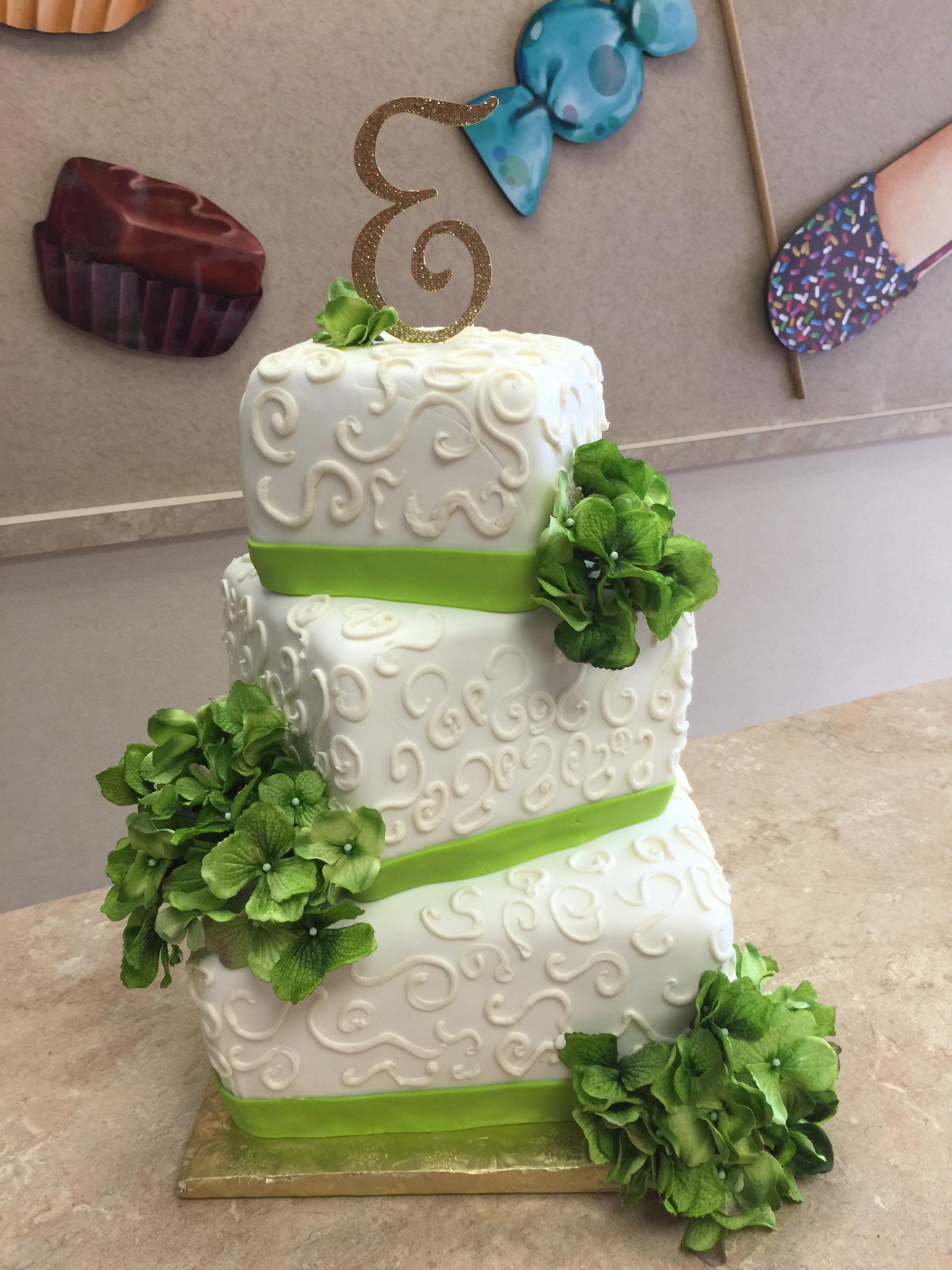 Irien Green Cake
