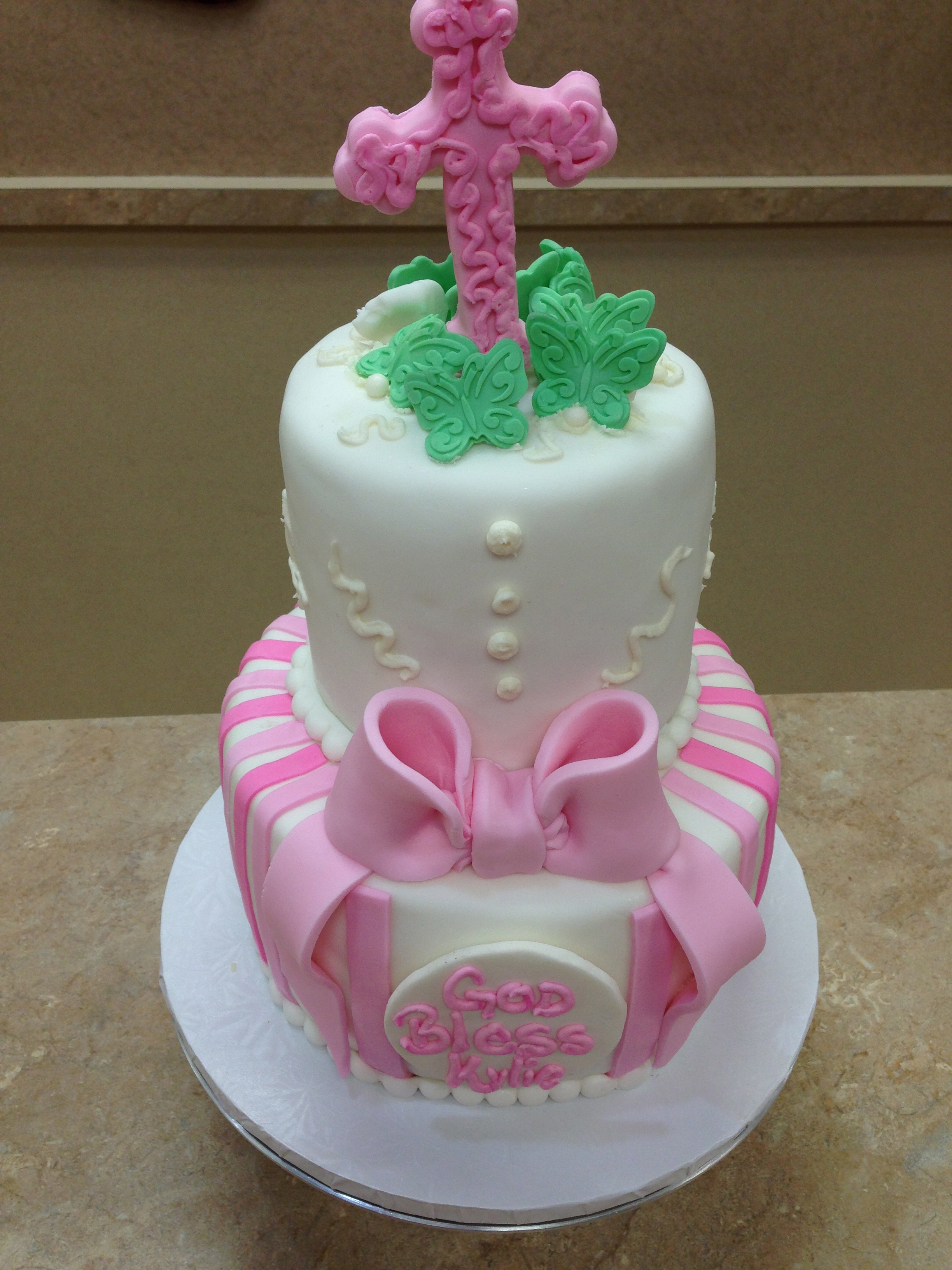 First Communion Cake