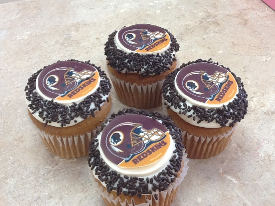 RedSkins Cupcakes