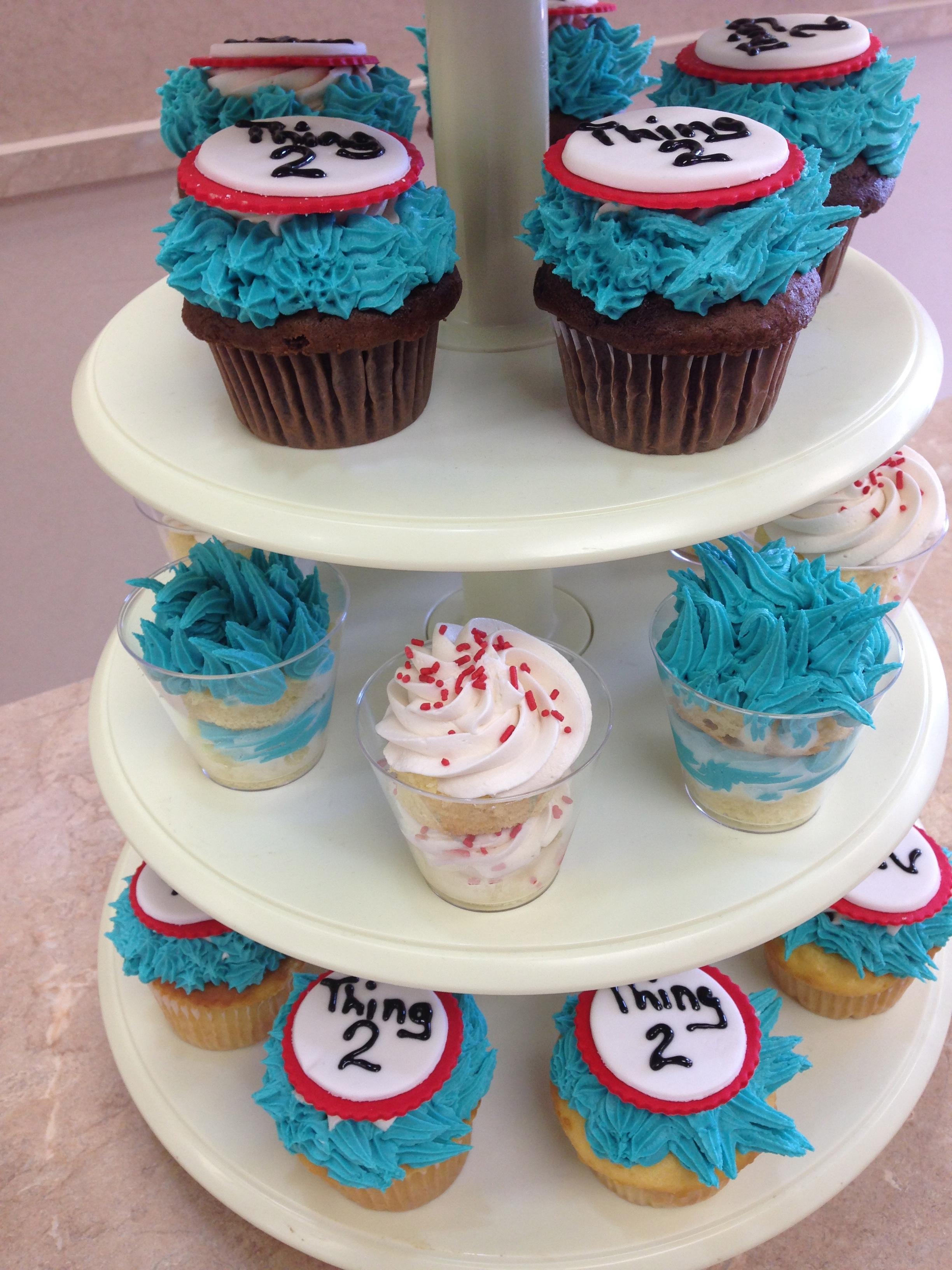 Dr.Seuss Cupcakes