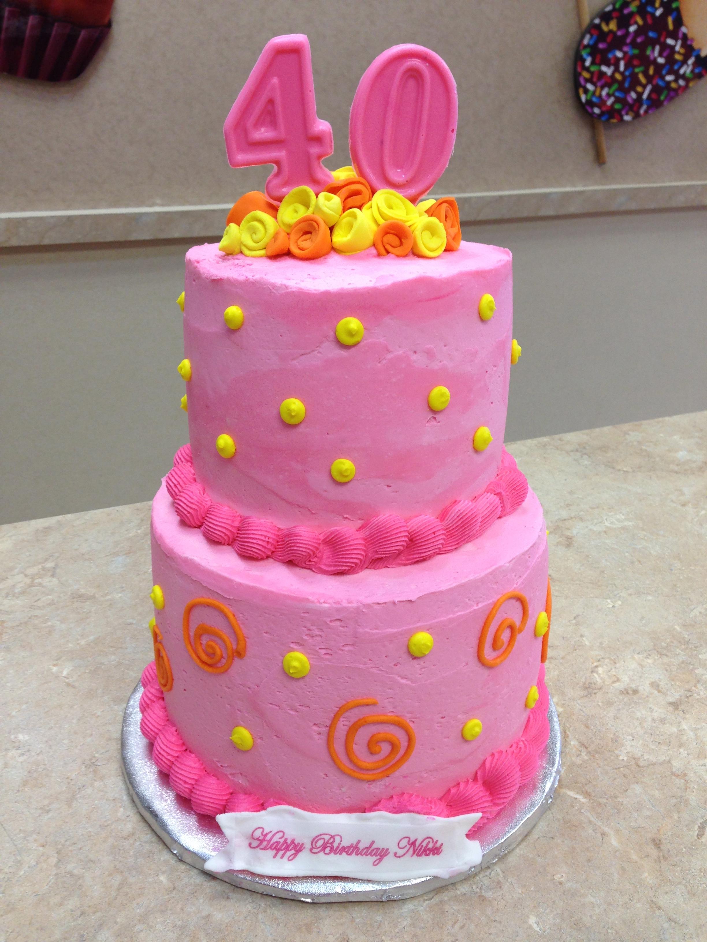 40's Cake