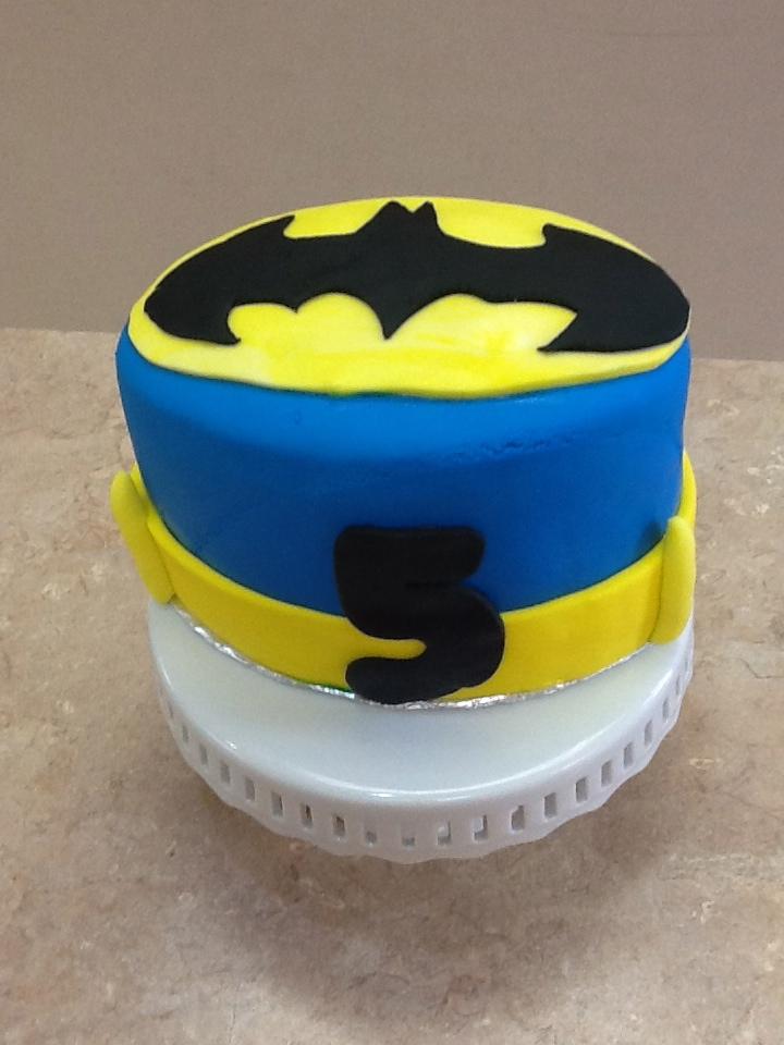 Fondant Batman Cake #F5675