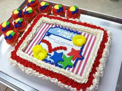 Achievement Cupcake Cake