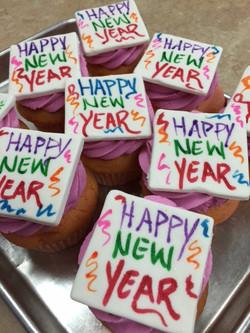 Happy New Years Cupcakes