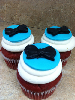 Tied with A Bow Cupcakes