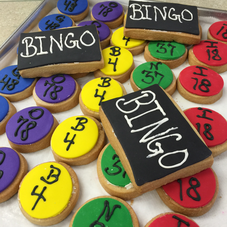 Bingo Cookies