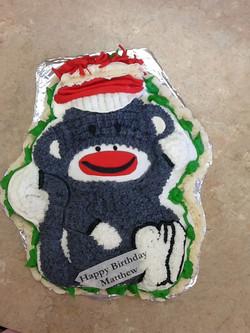 Monkey Buttercream Cake