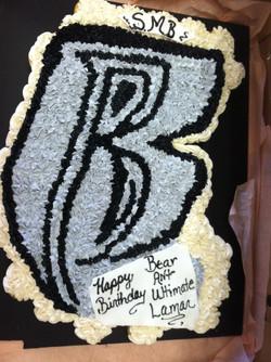 B Cupcake Cake