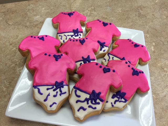 Baby Onesies Cookie