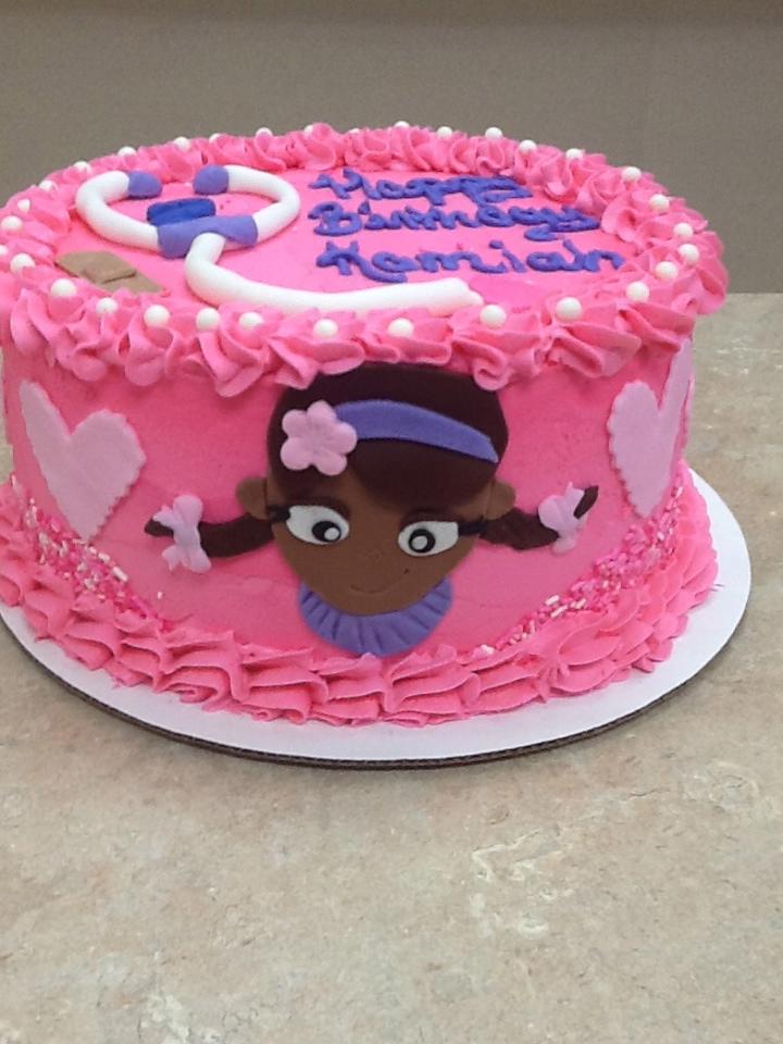 Dr.Mc Stuffin Cake