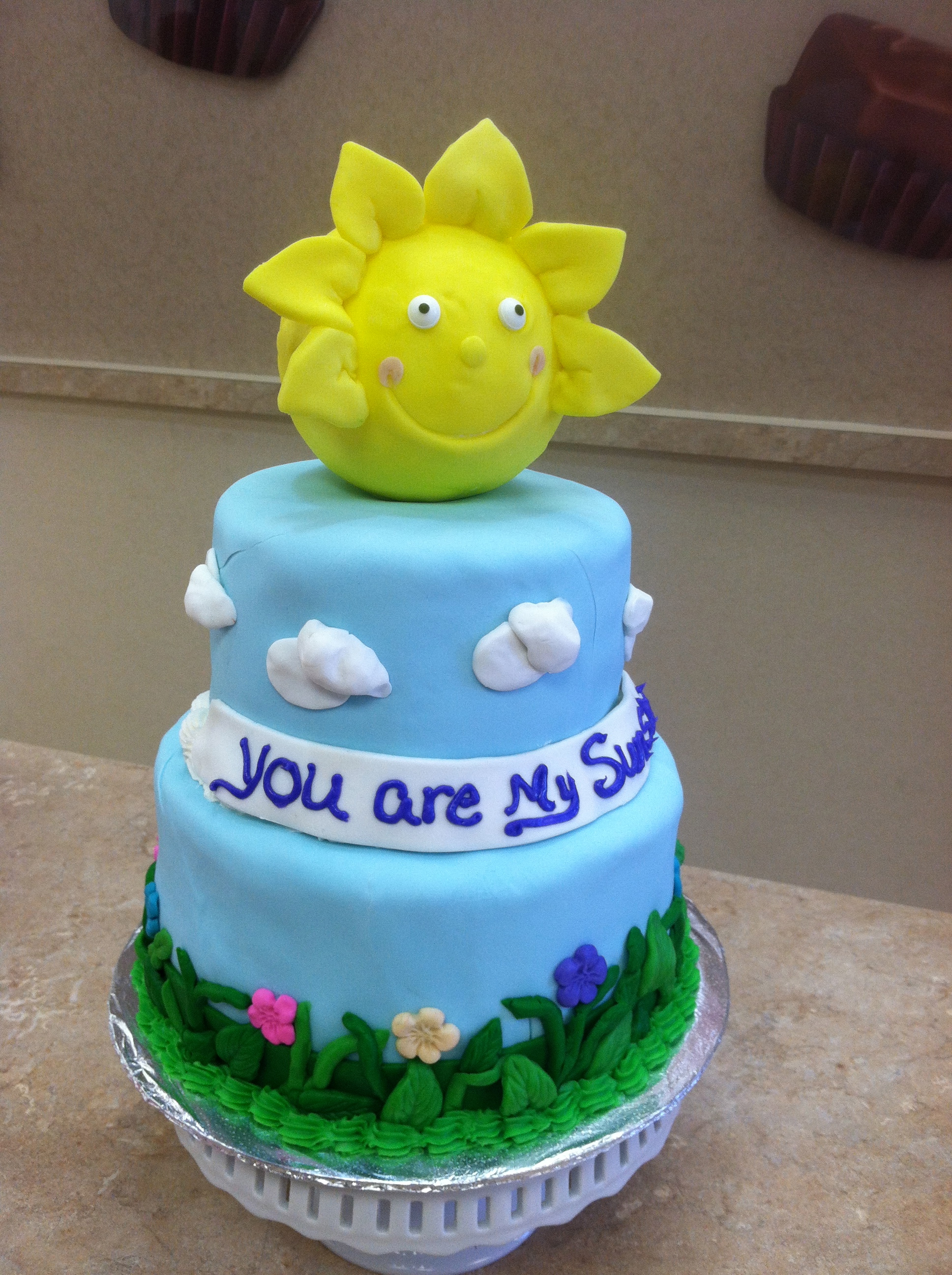 You Are My Sunshine Cake