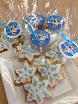 Snow Flake Cookies