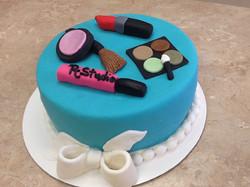 Make Up / Spa Theme Cake