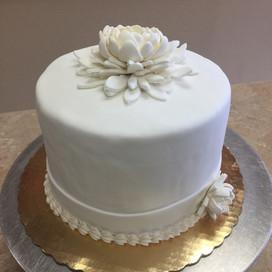 Frondant Wedding Cake