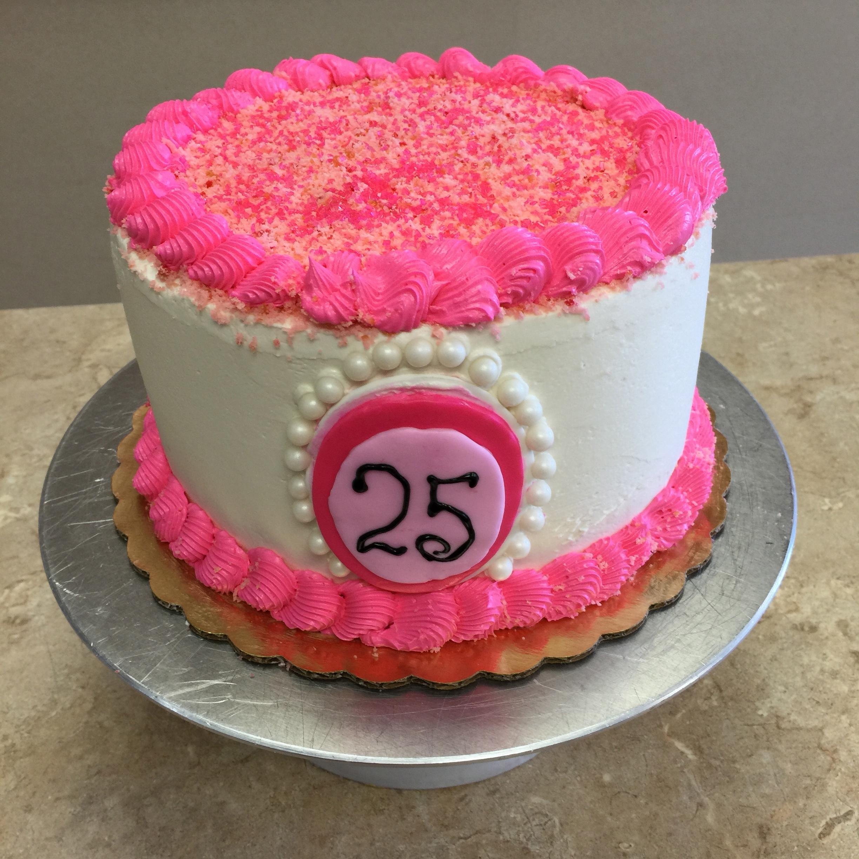The Big 25 Cake