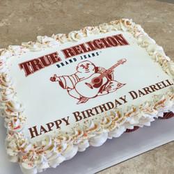 True Religion Cupcake Cake