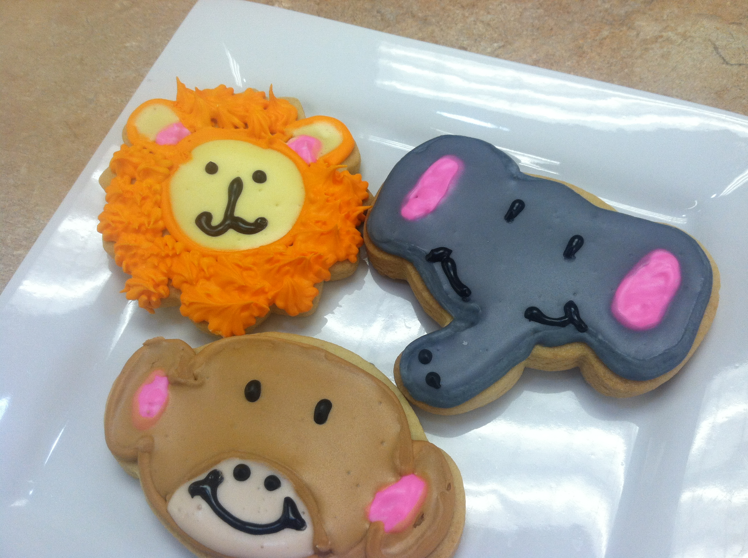 Jungle Safari Cookies