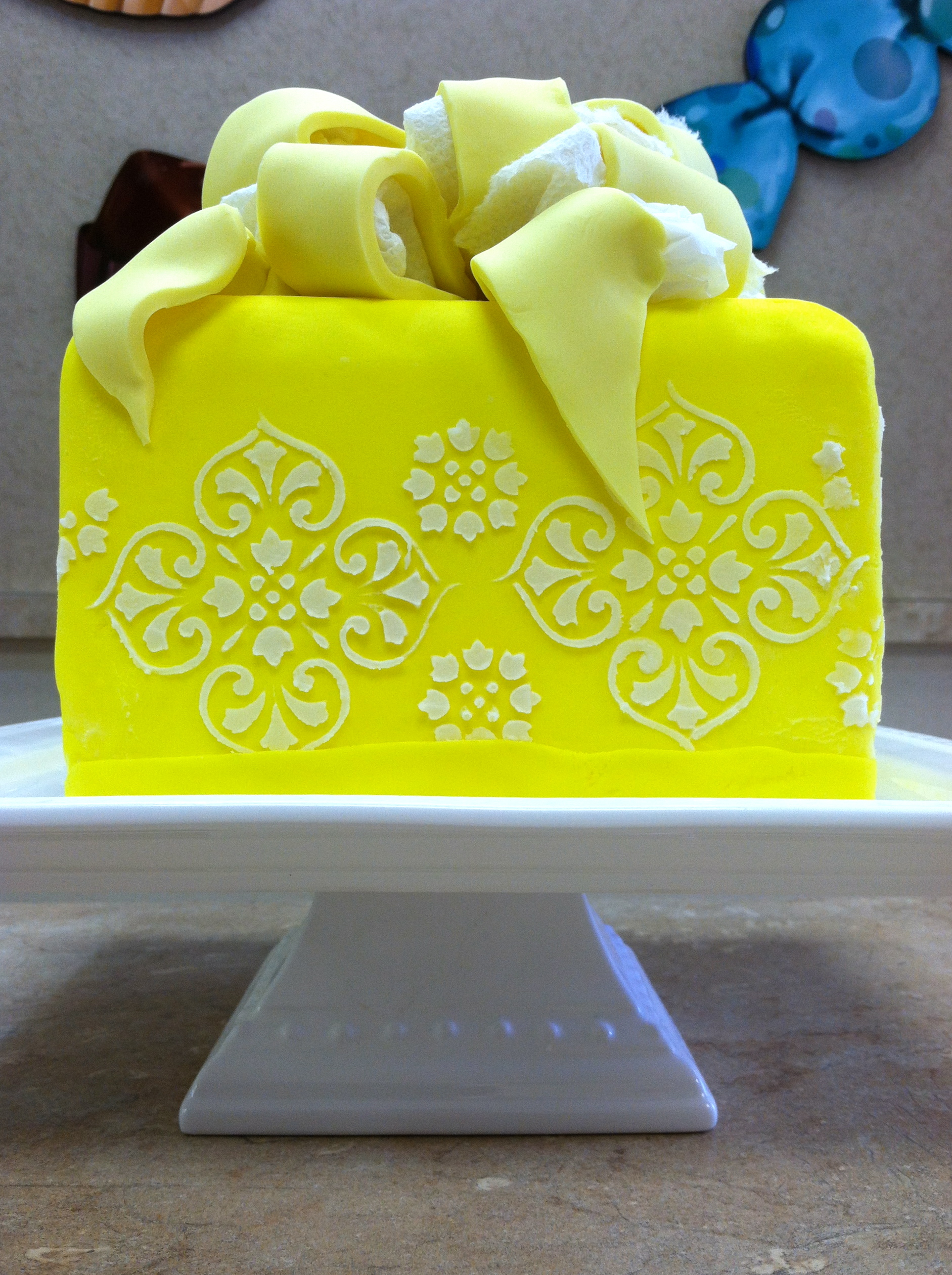 Sunshine Yellow Cake