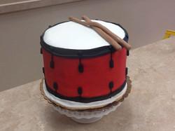 Drumline Cake