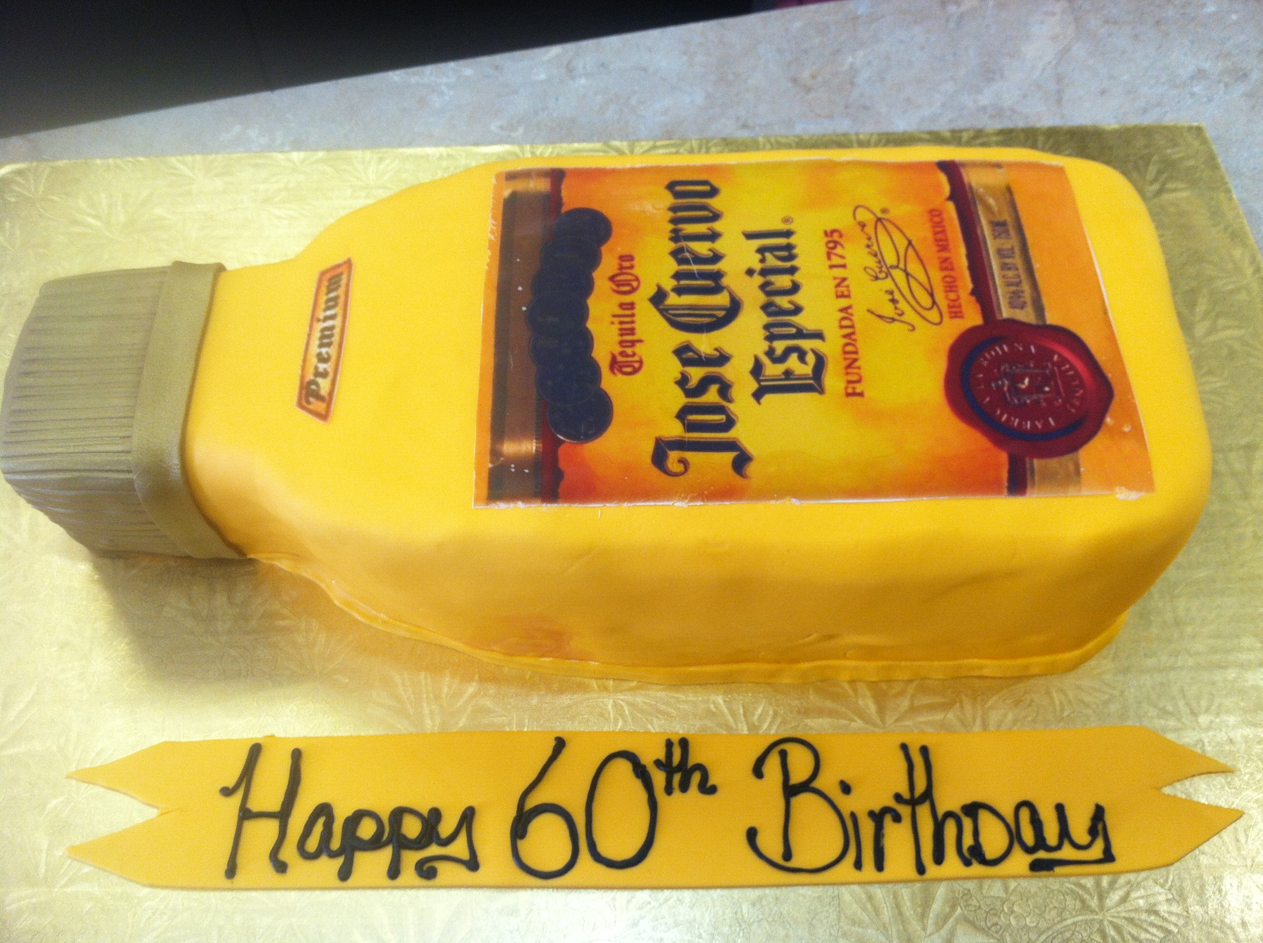 Jose Cuervo Especial Bottle Cake