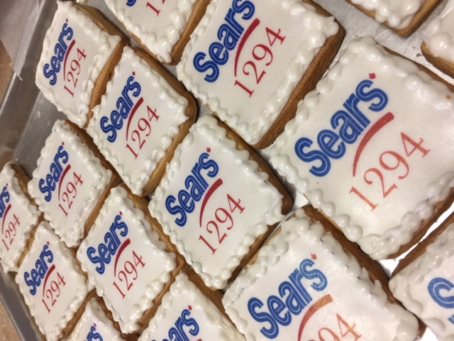 Sears Logo Cookie