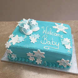 WinterWonderland Theme Cake