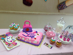 Doc McStuffins Cake and Candy Buffet