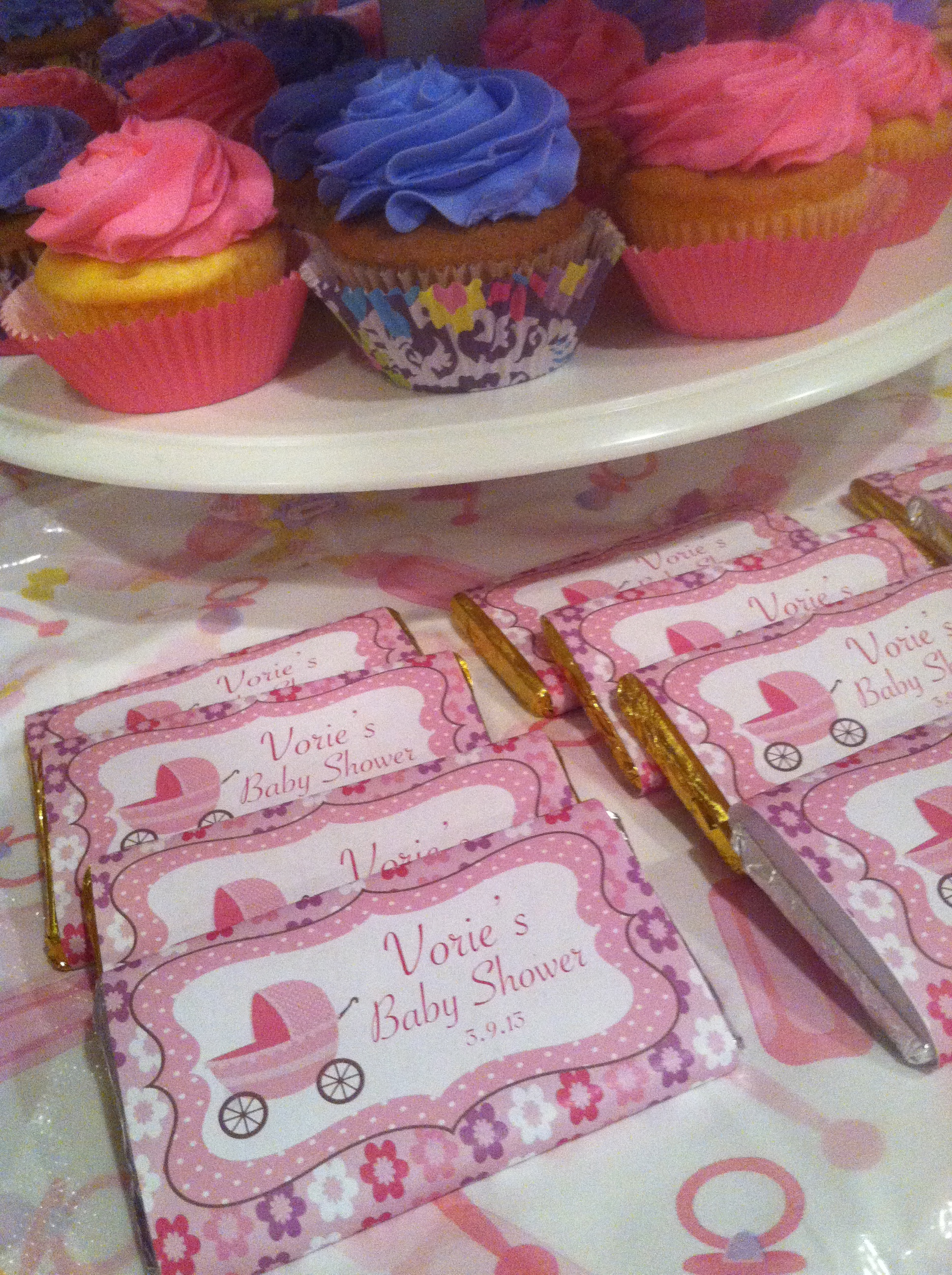Baby Girl's Shower Dessert