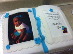 Photo Bible Cake