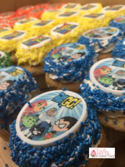 Teen Titans Cupcakes